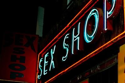 sex shop customers